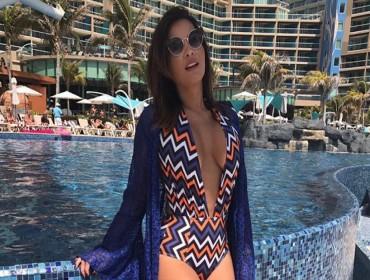 Geisy Arruda posa de maiô em Cancún, veja o antes e o depois da fama