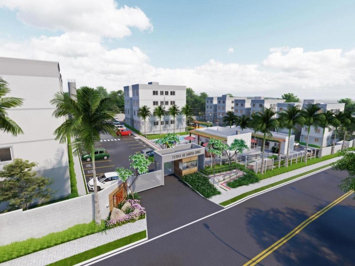 Prefeito Bongiorno anuncia a construção do Residencial Terra de Santa Cruz com 112 apartamentos