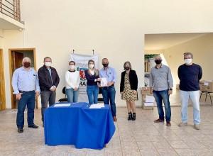 """Administração de São Tomé recebe os cartões do programa """"comida boa"""""""