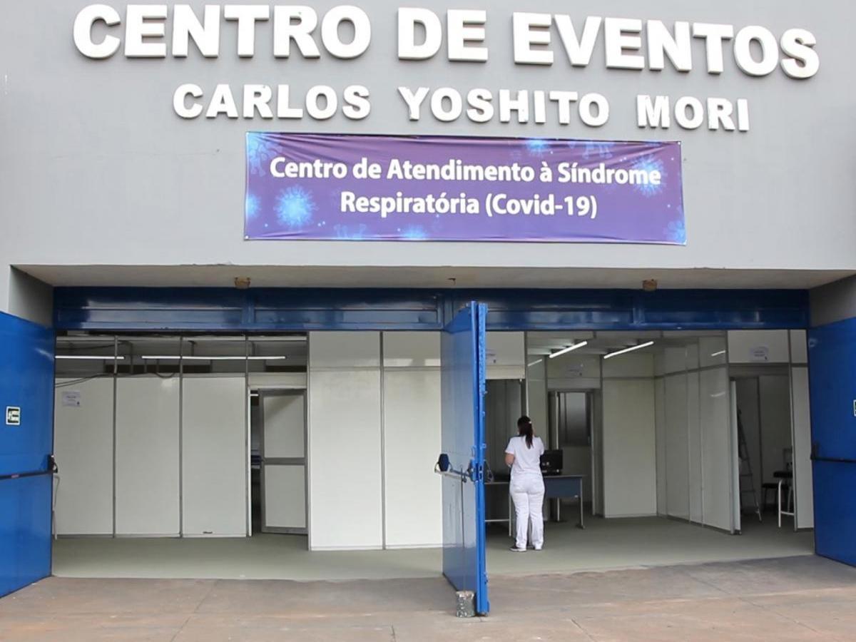 Em Cianorte, Centro de Atendimento à Síndrome Respiratória já atendeu mais de 140 pacientes