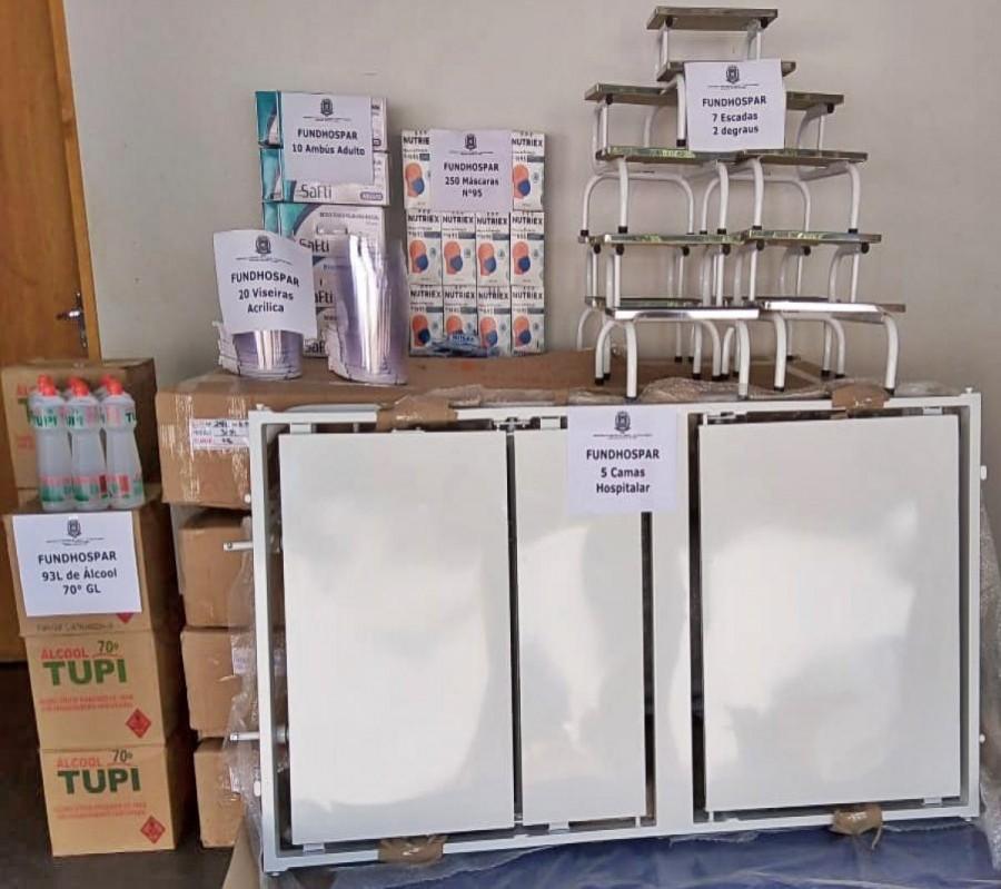 Cianorte recebe R$ 150 mil em equipamentos para combate ao coronavírus