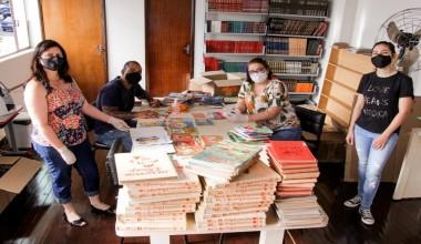Divisão de Cultura inicia processo de informatização da Biblioteca Municipal