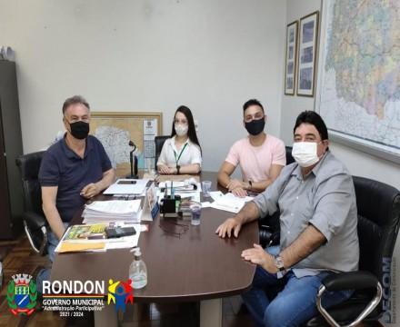 Administração de Rondon reafirma parceria com o D.E.R