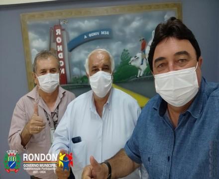 Administração  de Rondon negocia  construção de moradias populares