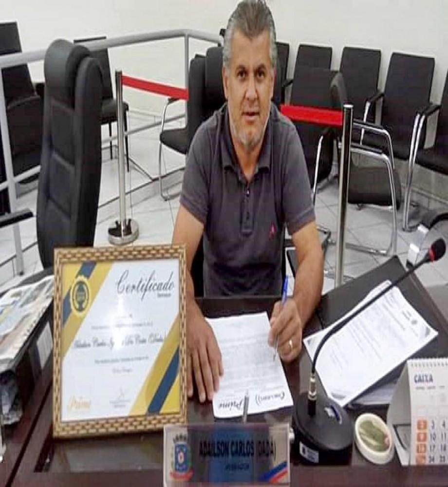 Vereador Dadá diz que vai à Justiça contra cassação