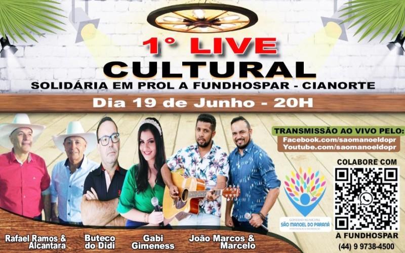 Administração de São Manoel promove Live solidária em prol da FUNDHOSPAR