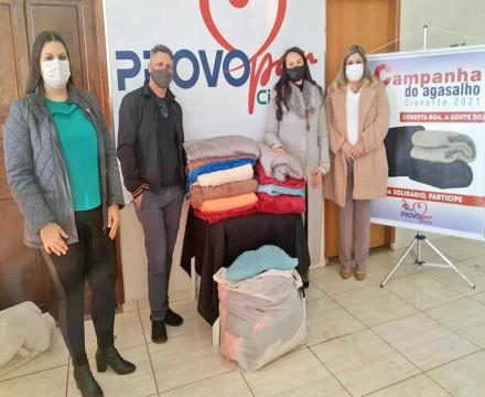 Doações reforçam proteção contra o frio em Cianorte