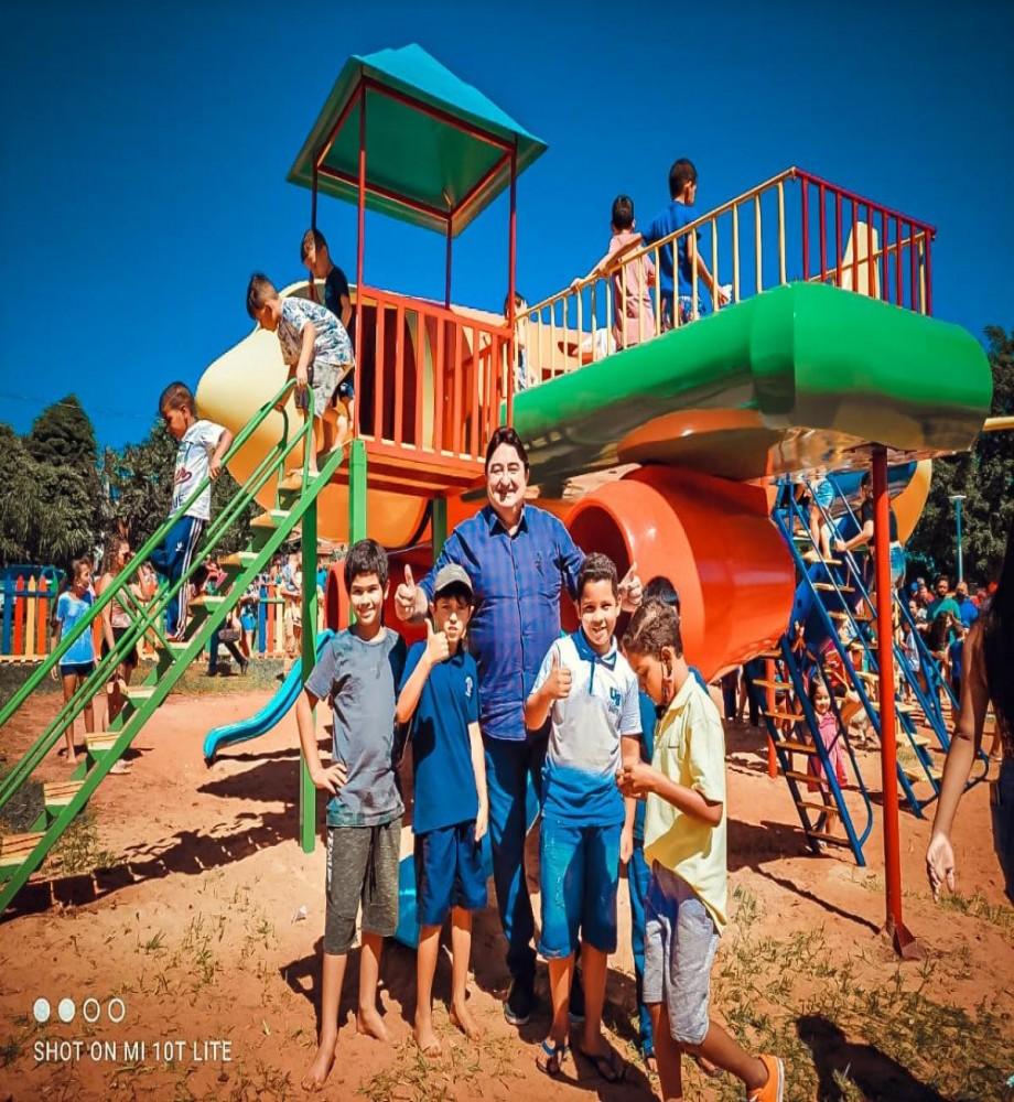 Administração de Rondon realiza festa em comemoração ao dia das crianças