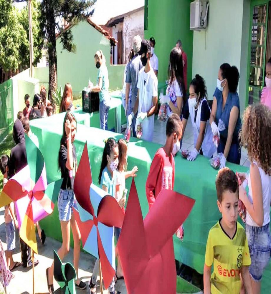 Prefeitura de São Tomé faz festa para comemorar Dia das Crianças