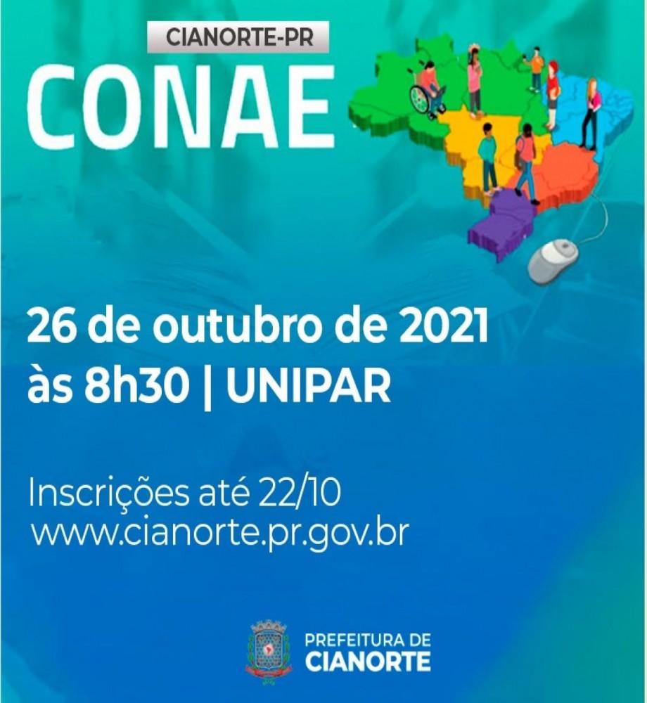 Cianorte abre inscrições para a Conferência Municipal de Educação